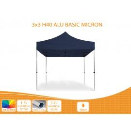 Bigtent 3x3 ALU BASIC nyitható pavilon,MIKRON tetővel