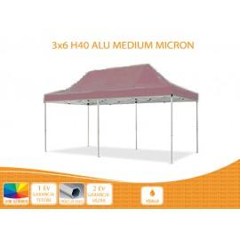 Bigtent 3x6 ALU H40 nyitható pavilon, MIKRON tetővel